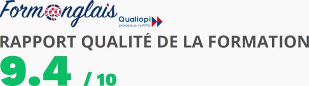 Bilan qualité 2020 9.4/20